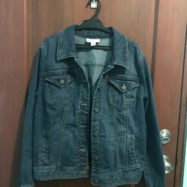 Denim jacket (for plus size women)