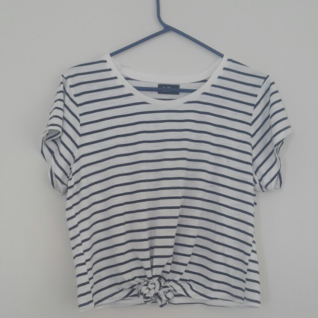 Dotti Stripe Crop Top