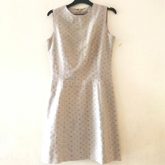 Mini Dress Cokelat