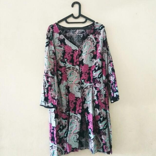 Dress Panjang Bigsize