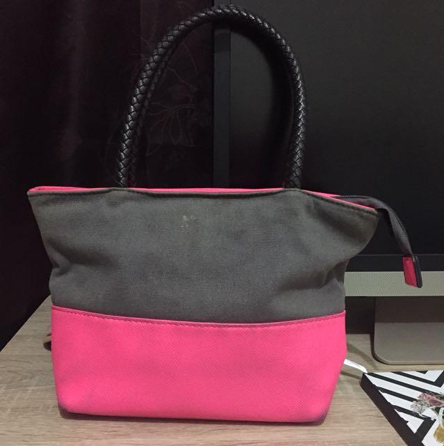 Elizabeth Pink And Grey Mini Bag