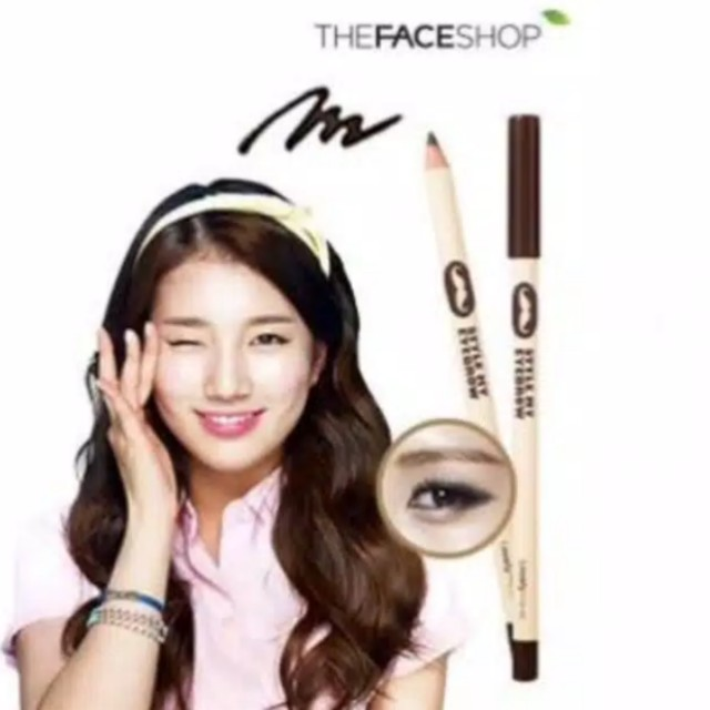 Eyebrow pensil alis the face shop BONUS rautan from germany
