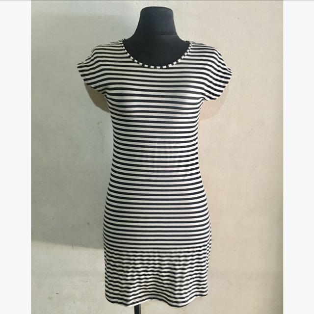 Fish18 Stripes Dress