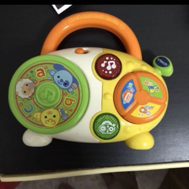 Fisher Price Musical Toy radio toy