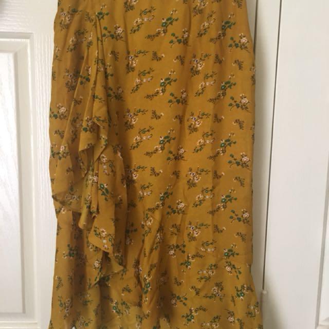 Floral Midi Skirt Nasty Gal 10