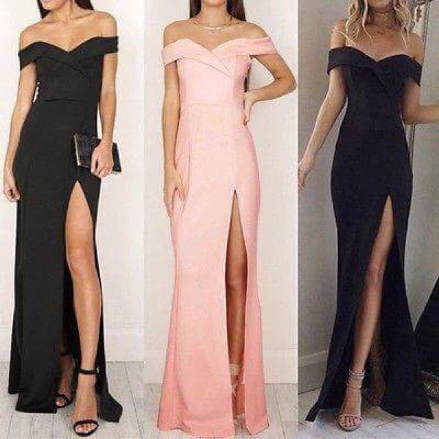 FOR RENT ‼️ Black Long Dress