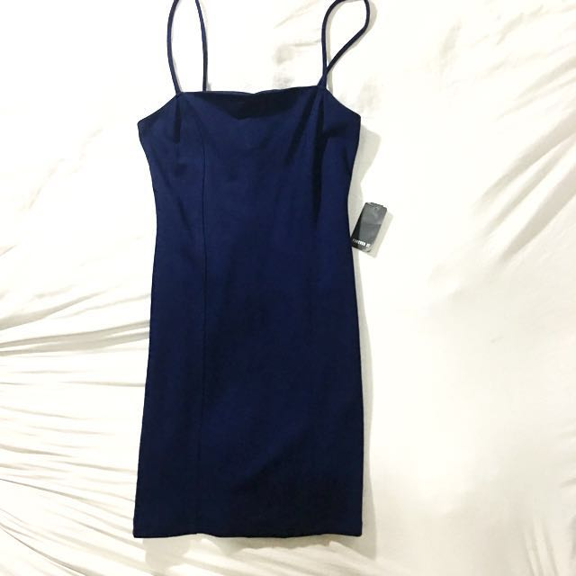 Forever 21 Navy Blue Bodycon Dress