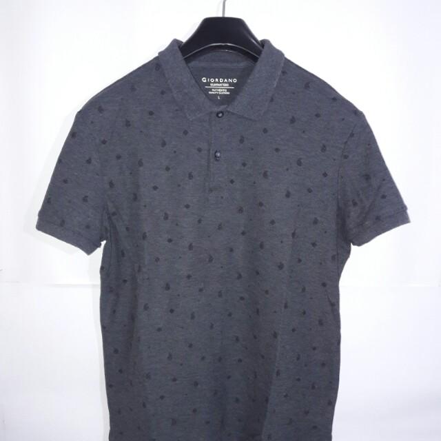 Giordano Polo Shirt Motif