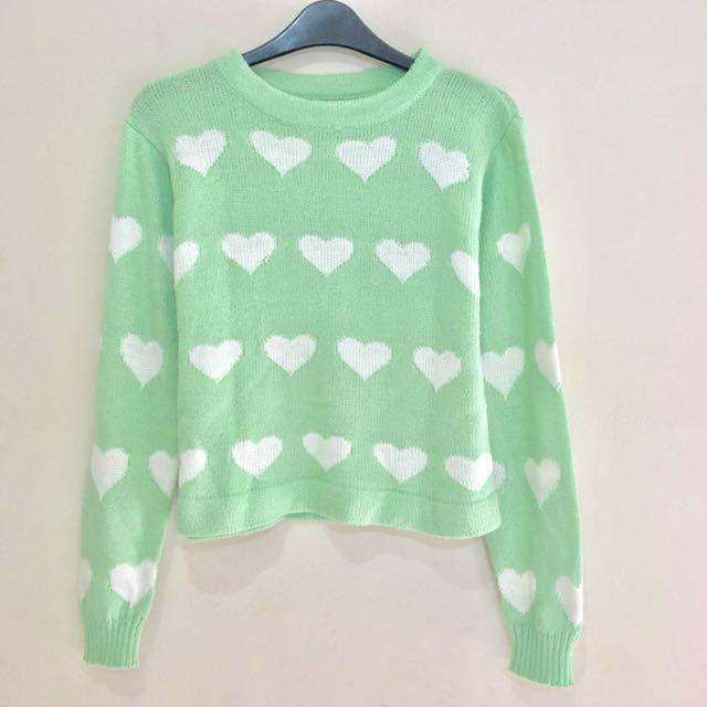 Green Love Pastel