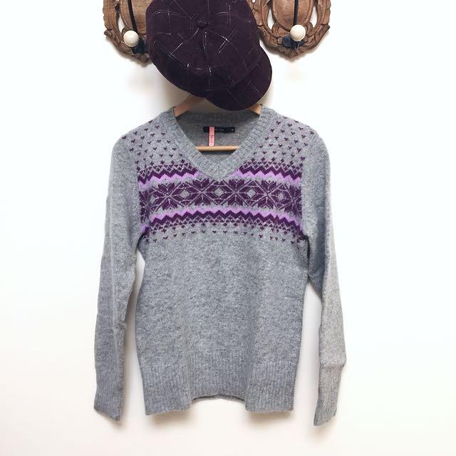 Hang Ten 耶誕雪花❄️羊毛衣