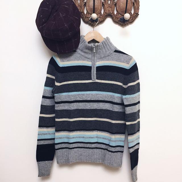 Hang Ten 條紋🐑毛衣