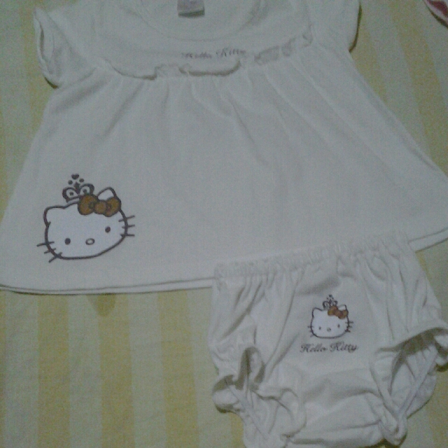 Hello Kitty Set White