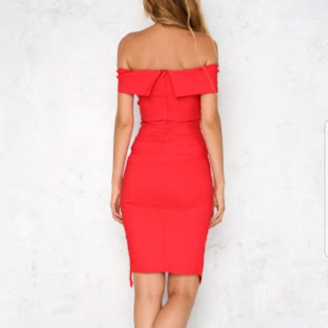 Hello Molly Size 8 The Double The Fun Midi Dress