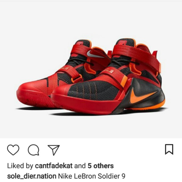 HOLIDAY SALE!! Authentic Lebron Soldier IX Rubber Shoes