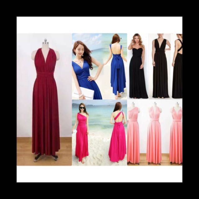 Infinity Long Dress/Gown
