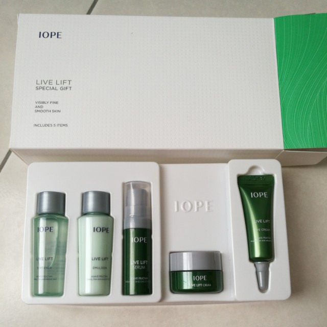 IOPE Live Lift Trial Kit