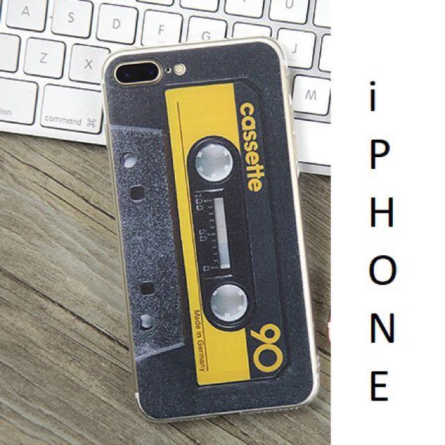 iPhone 8 / 7 classic cassette cover