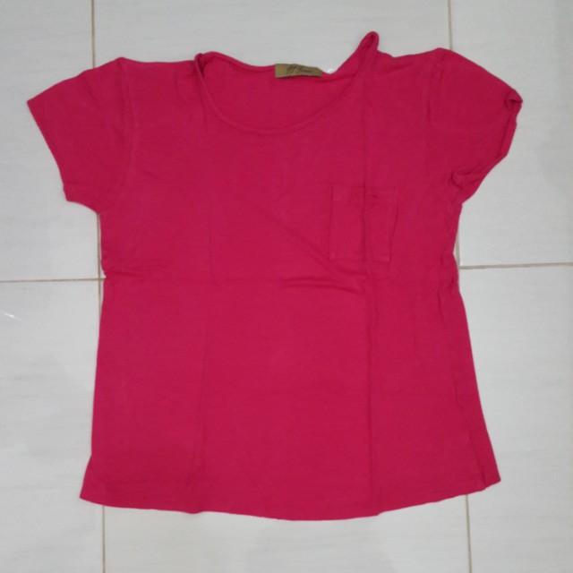 Kaos pink S