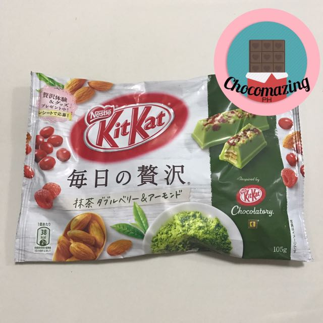 Kitkat Green Tea Almond Cranberries