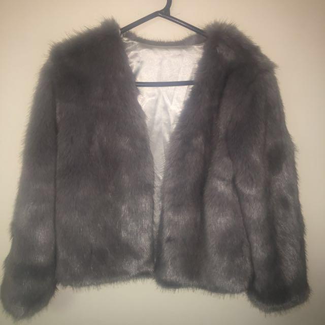 Korean Style Fur Outerwear/Coat