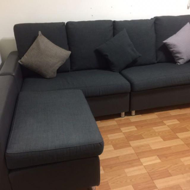 L型長沙發 超新 原價18000