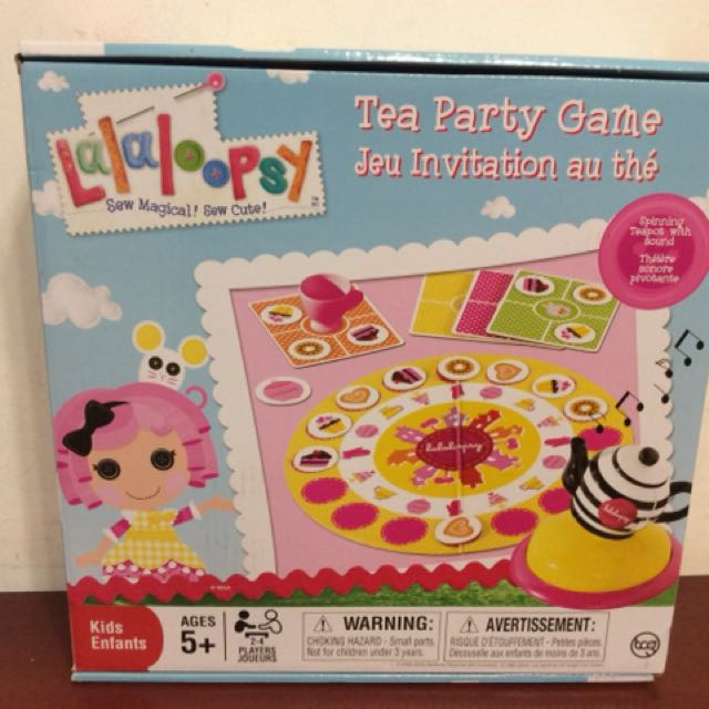 Lalaoopsy Tea Party Game