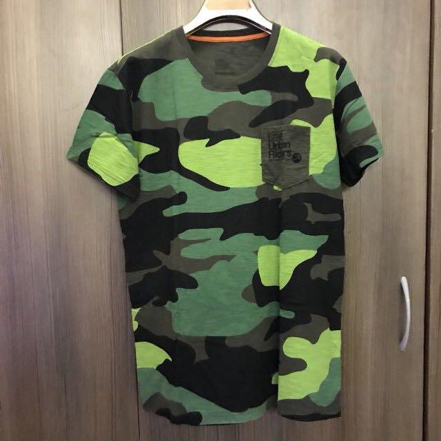 Lee Camouflage Tshirt