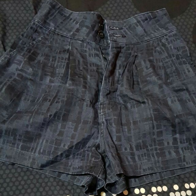 Levis waist high shorts rush sale