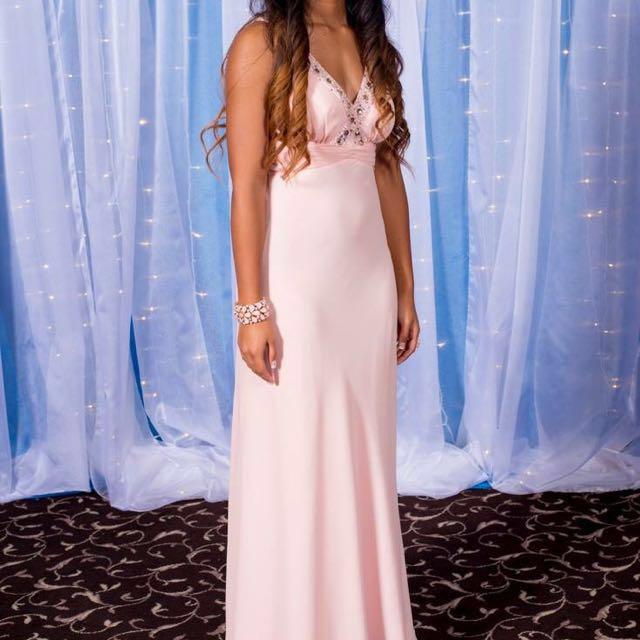Light Pink Ball Dress