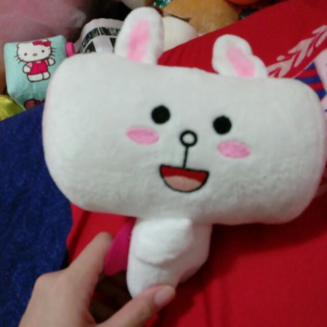 Line兔兔超人饅頭人 娃娃玩偶