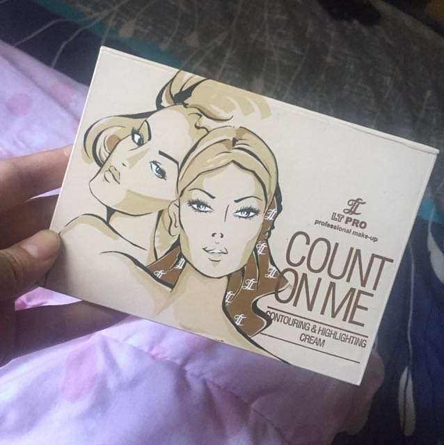 LT PRO COUNT ON ME (contouring & highlighting cream foundation) 10000% ORIGINAL