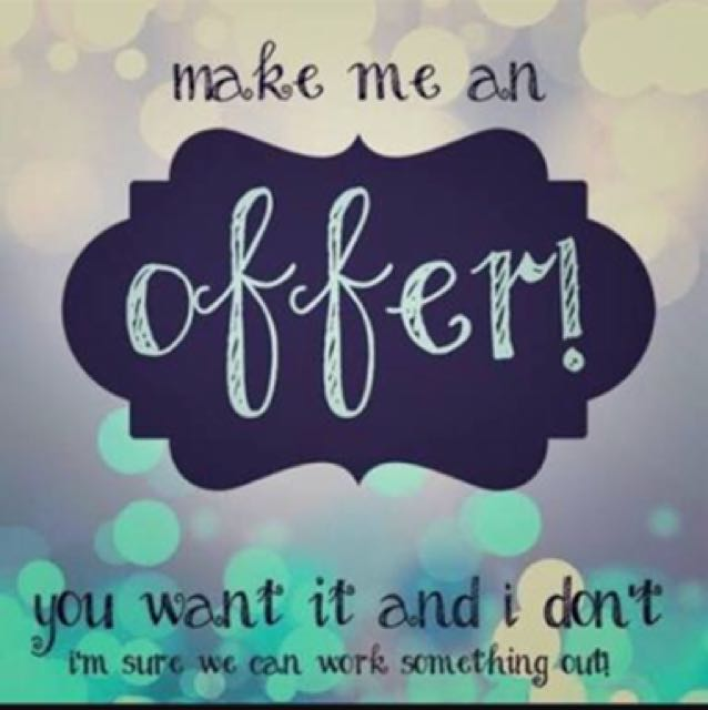 MAKE AN OFFER EVERYTHING NEEDS TO GO