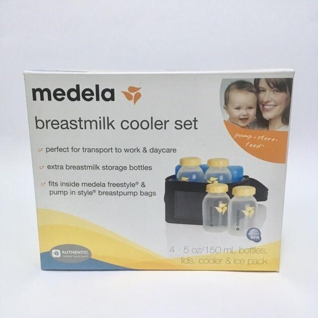 Medela's BreastMilk Cooler Set