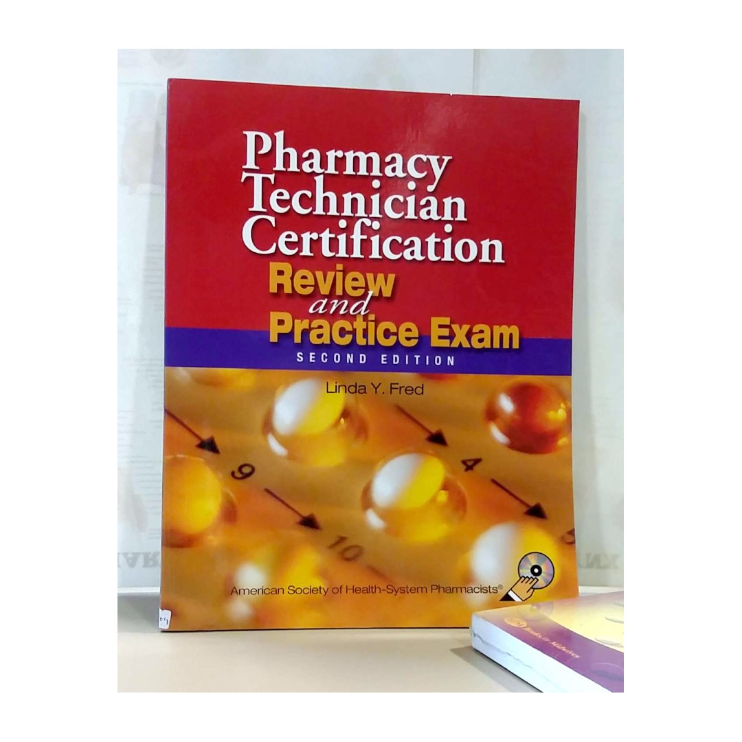 Medical Book Pharmacy Technician Certification By Linda Fred 2