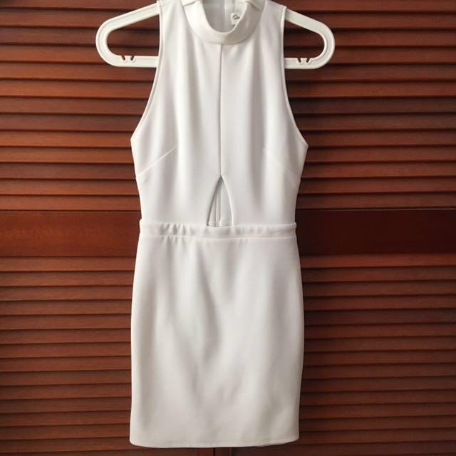 MISS SELFRIDGE White Formal Bodycon Dress