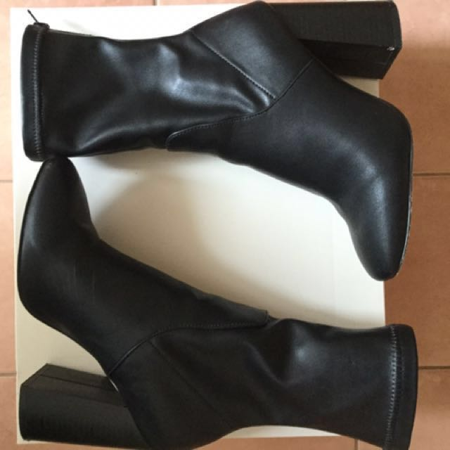 Miss shop heeled boots