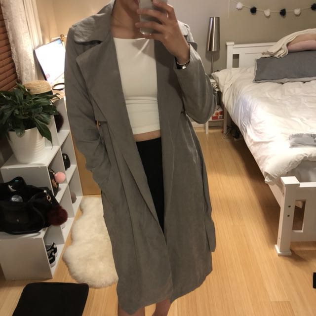 Missguided Duster Coat Size 10