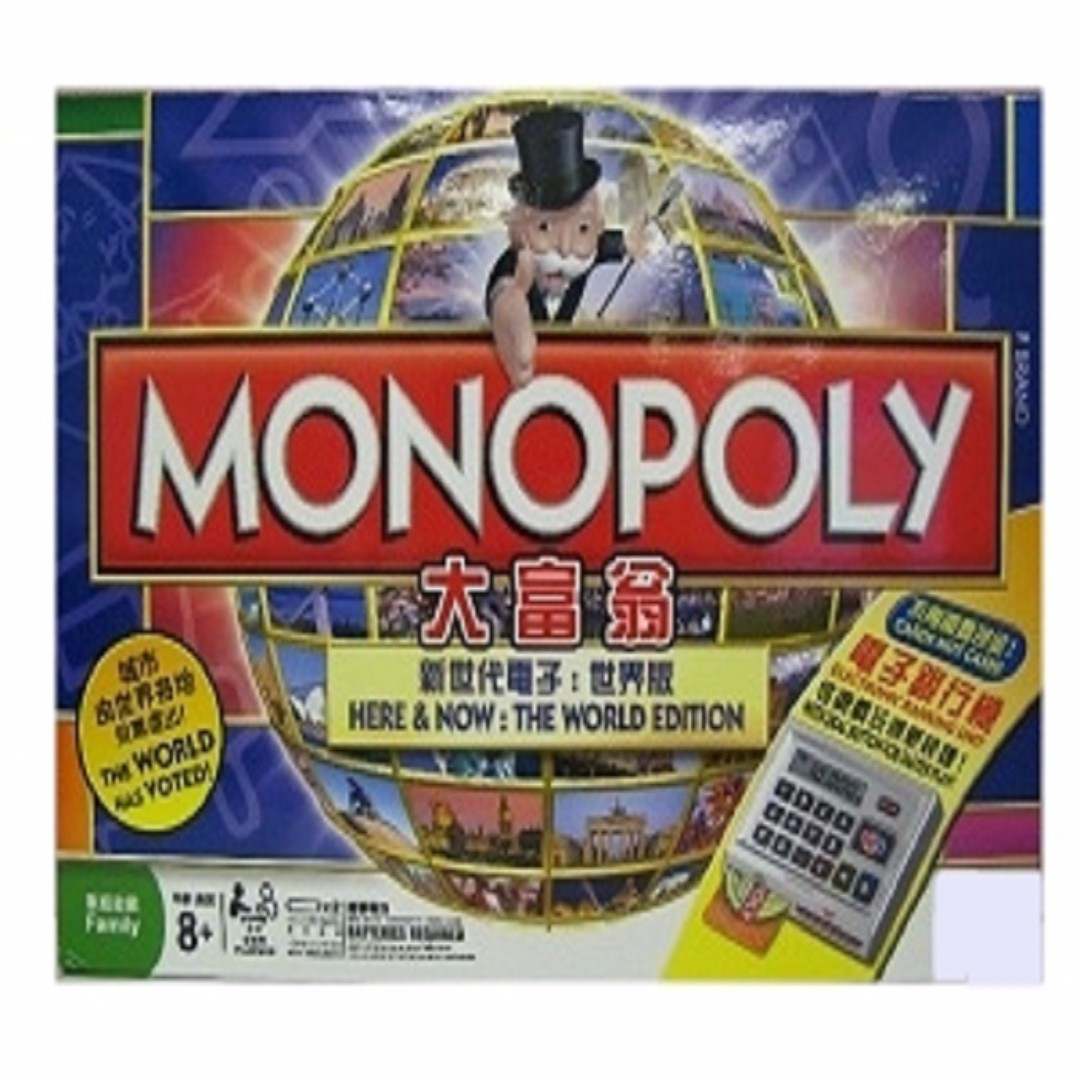 Usaopoly Monopoly Jurassic World Us700304046727 Spec Dan Daftar Mainan Monopoli Lumi Toys 4 In 1 All New International Source Photo
