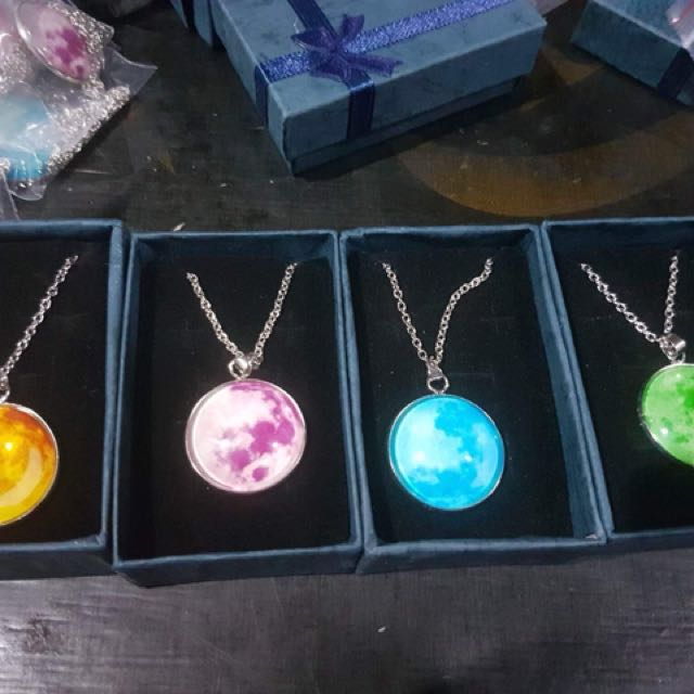 Moon Necklace w/ Box