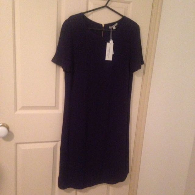 Navy blue women's dress size 8