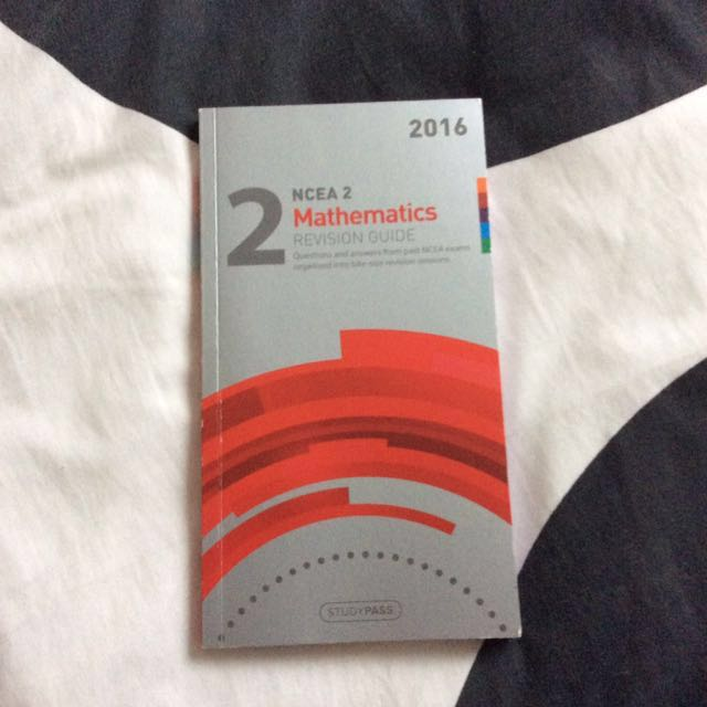 NCEA LEVEL2 Math Revision Guide