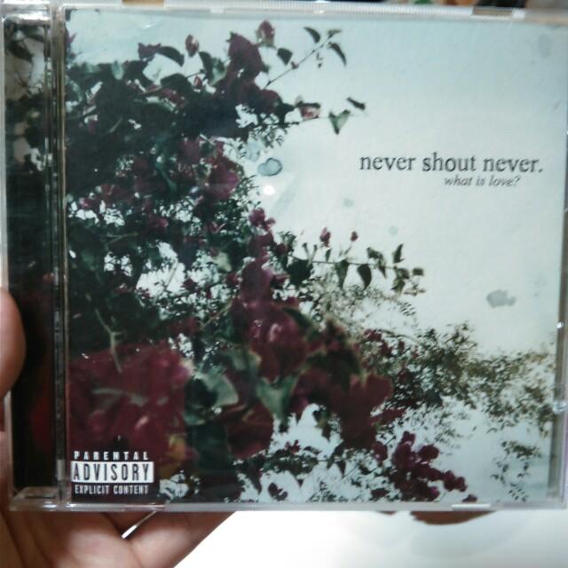 nevershoutnever - What is love? Album
