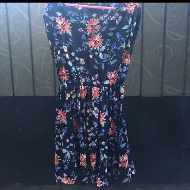 New look Midi dress flower