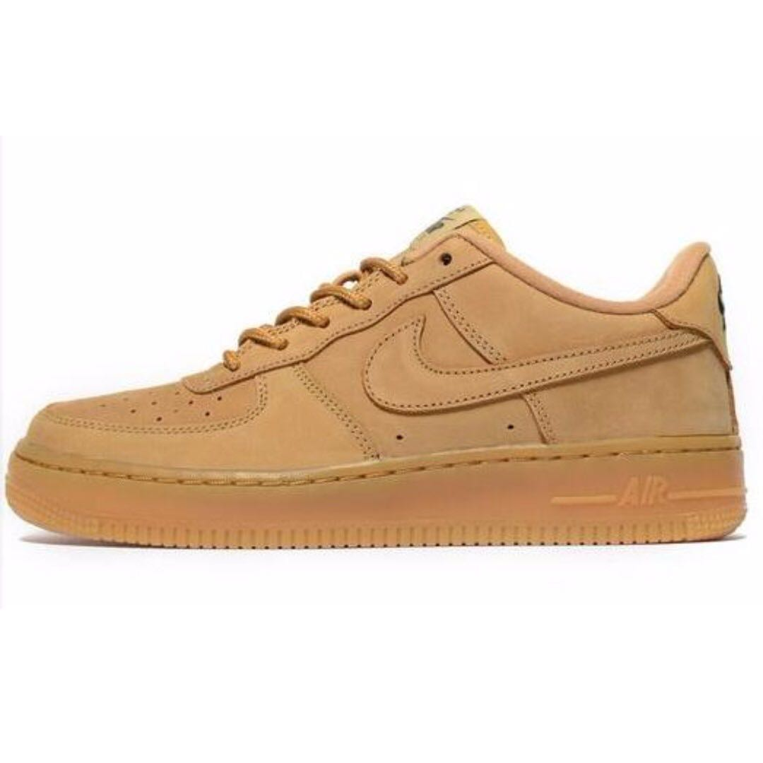 best sneakers 081e6 17529 Nike Air Force 1 LV8 WB Flax, Men s Fashion, Footwear on Carousell