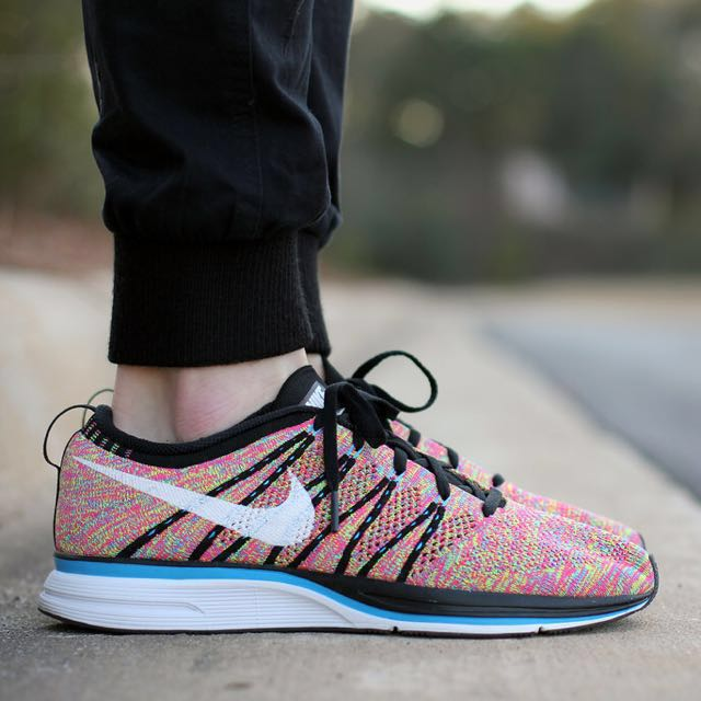 arrives 132c7 41420 Nike Flyknit Trainer Multicolor Us10.5 Us 10.5, Men's Fashion, Footwear on  Carousell
