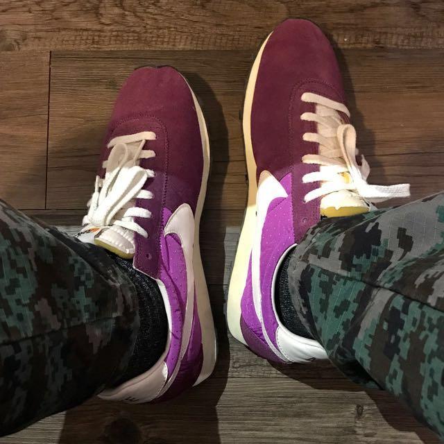 Nike Vintage Montreal 紫 復古 跑鞋