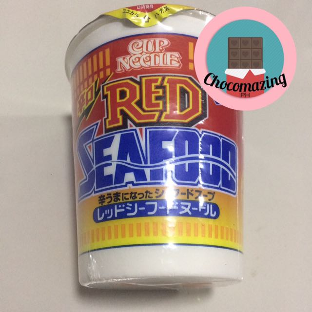 Nissin Red Seafood
