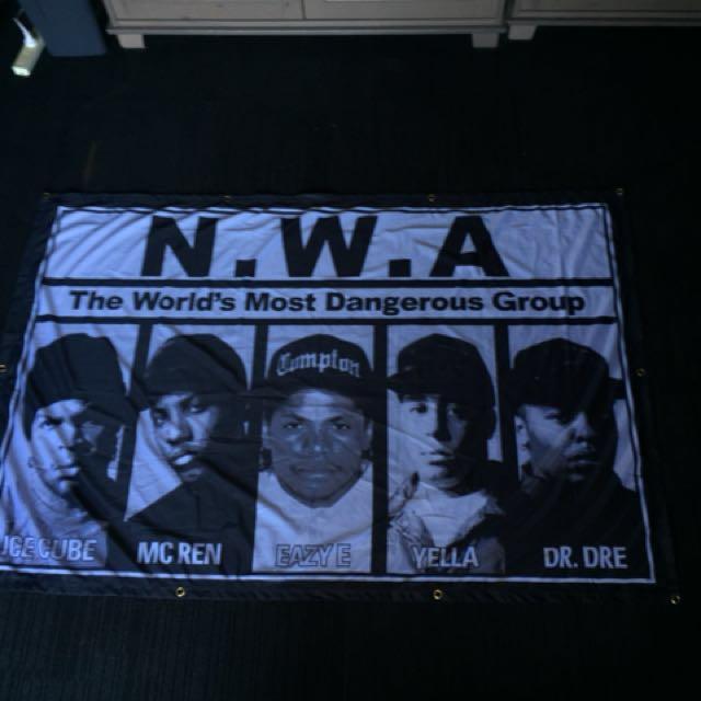 NWA Wall piece/Wall Hanging