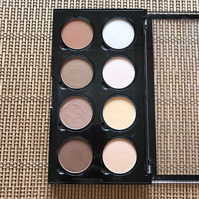 NYX highlights and contour pro palette