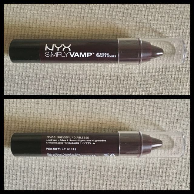 Nyx Simply Vamp Lip Cream